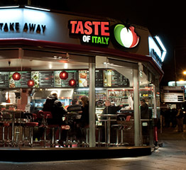 An All Day Casual Dining Caf 233 And Takeaway Taste Of Italy