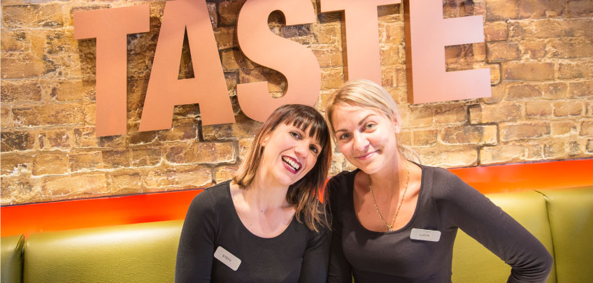 Taste of Italy Italian cafe Edinburgh staff