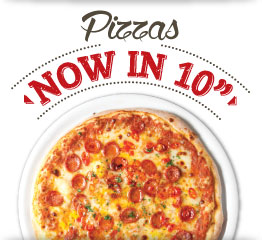 Pizzas Now In 10