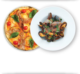 2 for 1 Lunches Offer at Vittoria Italian Restaurants