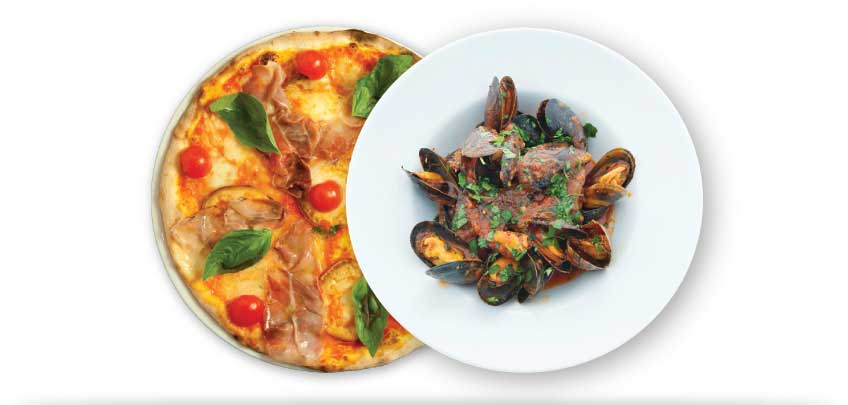 2 for 1 Italian Lunches Edinburgh