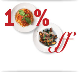 La Favorita pizza restaurant - 10% off promotion