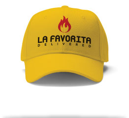 La Favorita Delivered Pizzeria logo cap