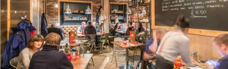 La Favorita Italian Pizza Restaurant Einburgh - Interior