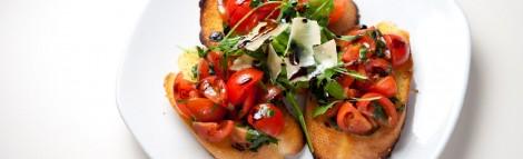 Tomato & Bruschetta Italian Starter
