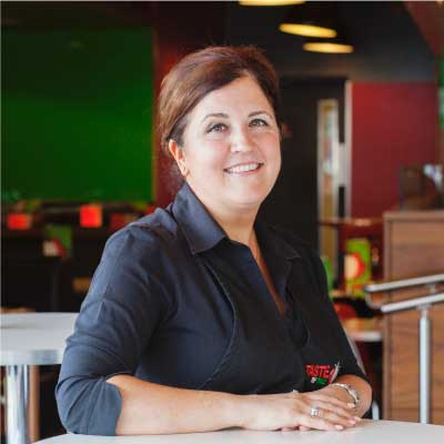 Taste of Italy Staff: Angela Crolla - Owner