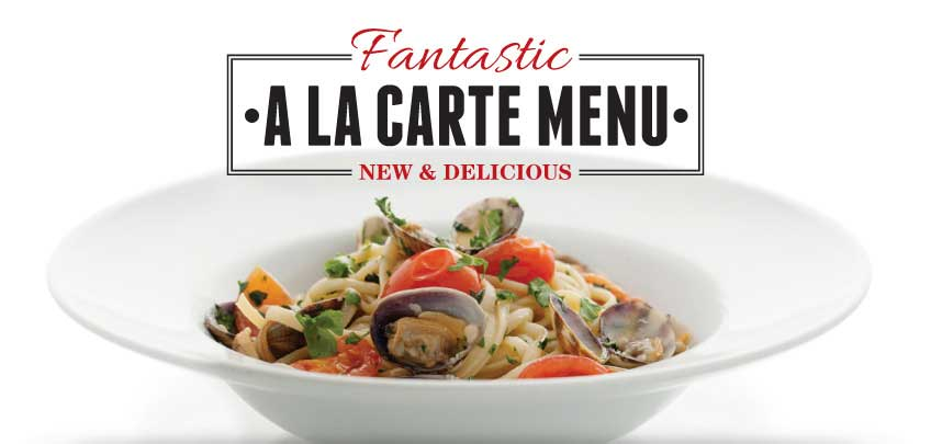 Vittoria Group's New A La Carte Menu