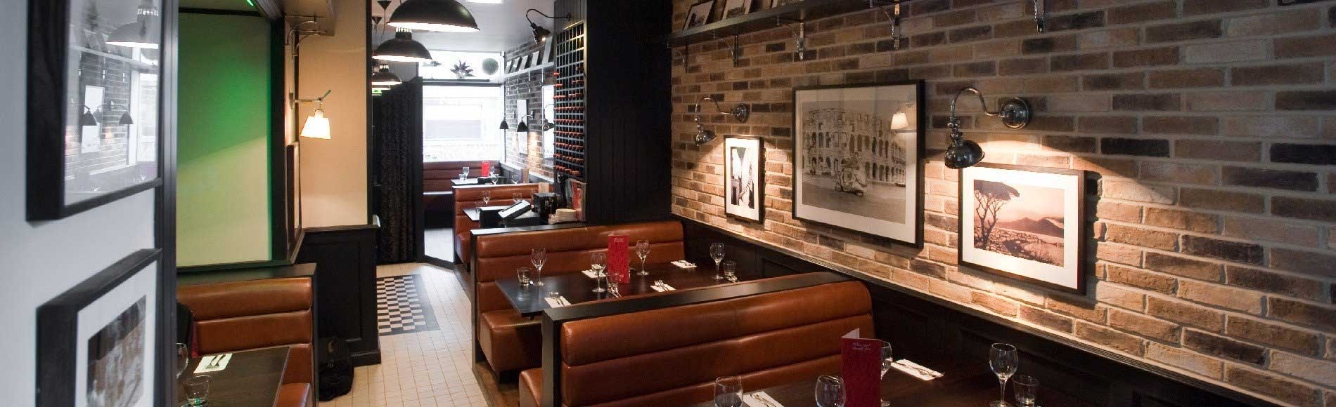 Vittoria Group Italian Restaurants Interior