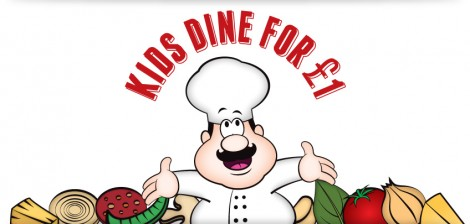Kinds Dine for £1 Vittoria on the Walk Promotion