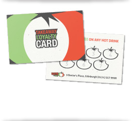 Taste of Italy Loyalty Card