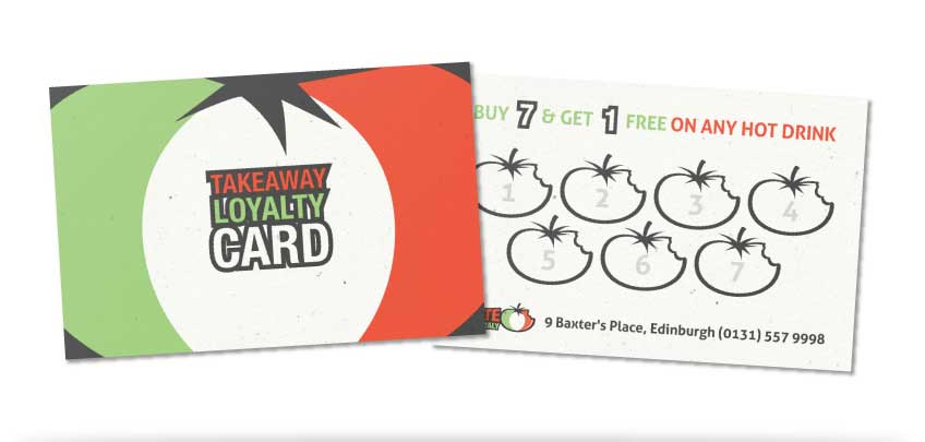 Taste of Italy Cafe & Takeaway Loyalty Card