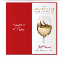 Wine Tasting Masterclass Gift Voucher
