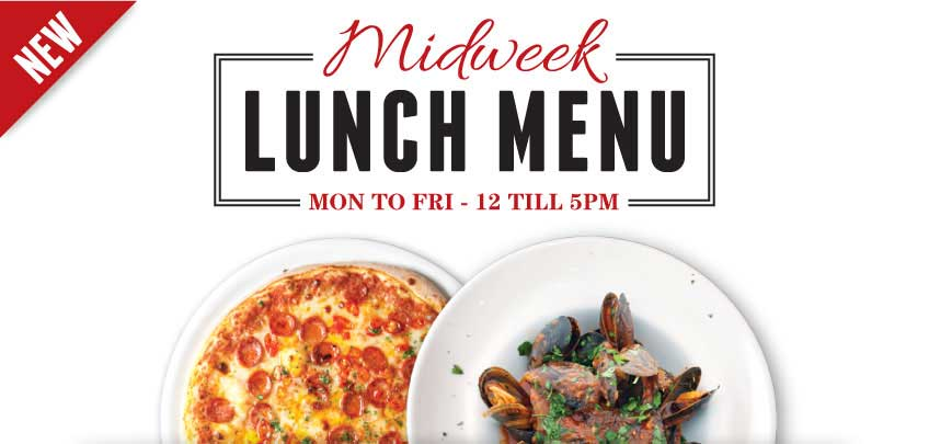 Vittoria Midweek Lunch Menu
