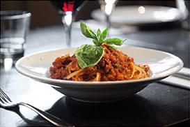 Classic Italian recipe Bolognese
