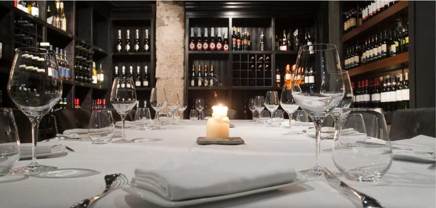 Private Dining at Fine Dining Italian Restaurant Edinburgh - Divino Enoteca