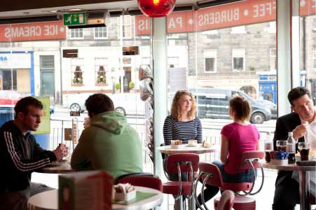 Taste of Italy Italian Cafe & Takeaway Edinburgh - Interior