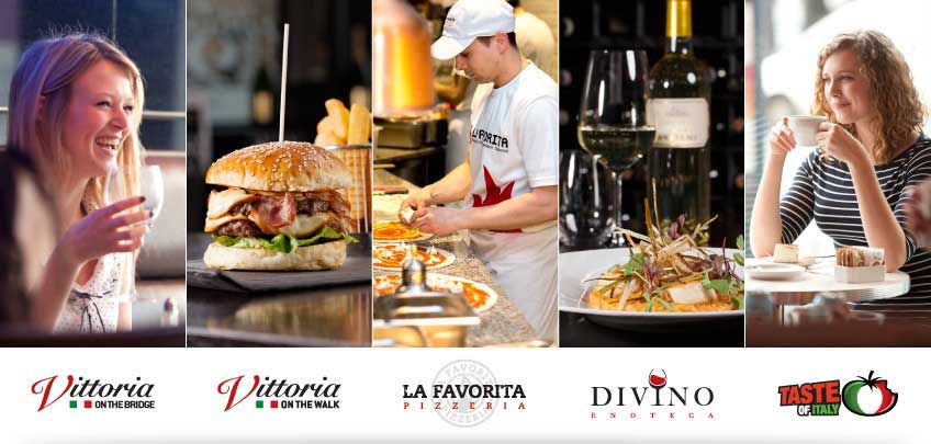The Vittoria Groups Italian Restaurants in Edinburgh