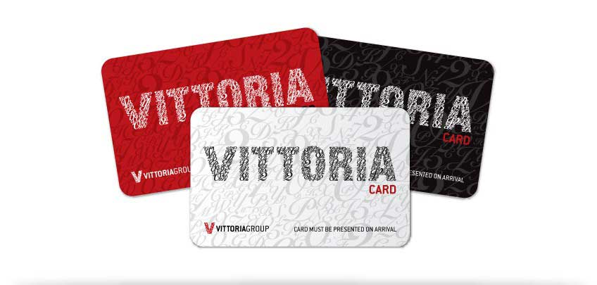 The Vittoria Members Card